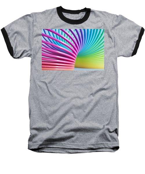 Rainbow 3 Baseball T-Shirt