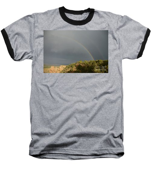 Rainbow At Grand Canyon Baseball T-Shirt