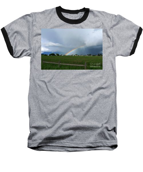 Rainbow Before The Storm Baseball T-Shirt