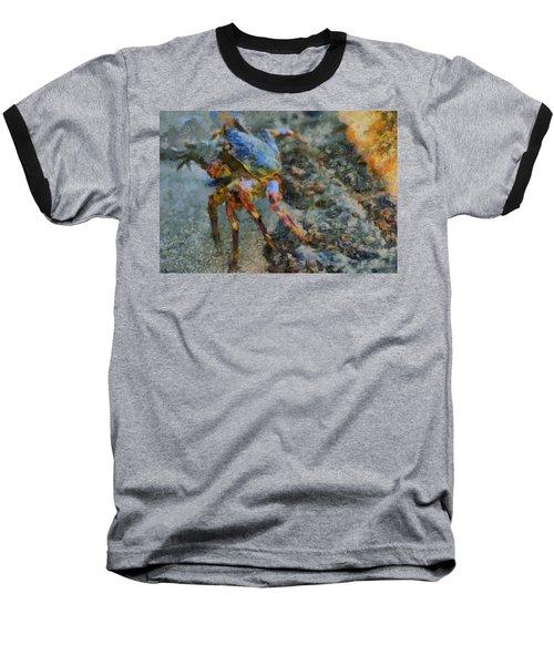 Rainbow Crab Baseball T-Shirt