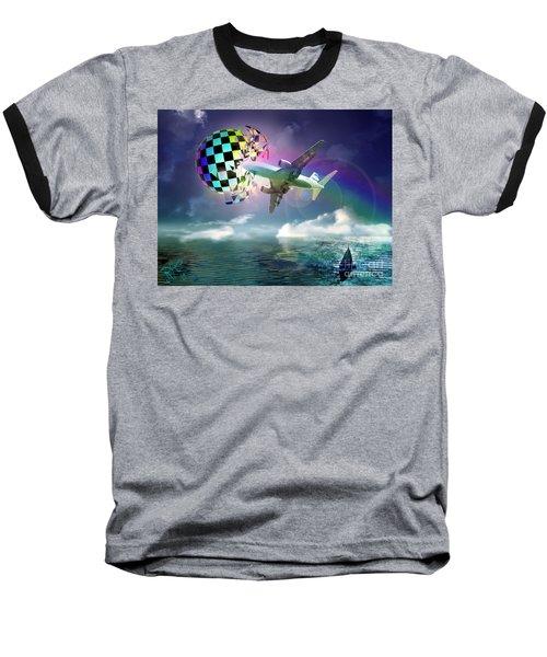 Rainbow Set Free Baseball T-Shirt