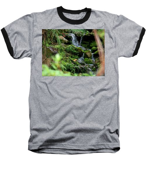 Rainbow Springs Waterfall Baseball T-Shirt