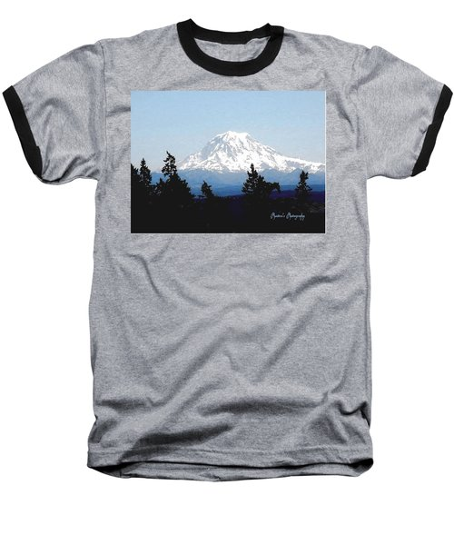 Baseball T-Shirt featuring the photograph Rainier Reign by Sadie Reneau