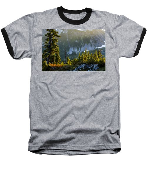 Baseball T-Shirt featuring the photograph Rare Sunset by Albert Seger