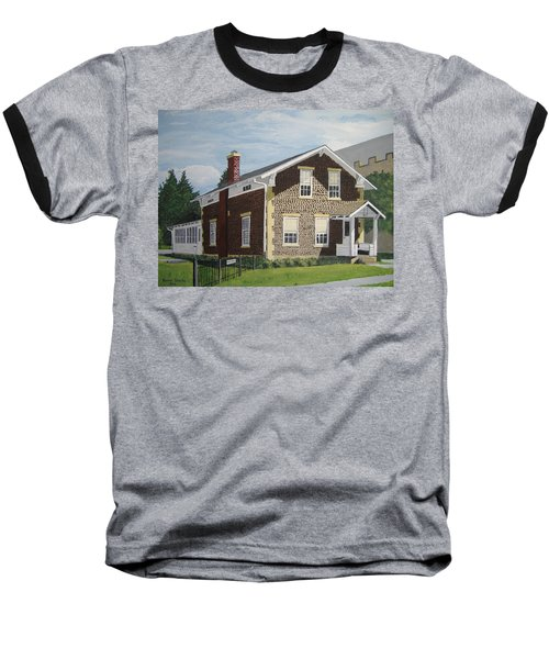 Baseball T-Shirt featuring the painting Rasey House by Norm Starks