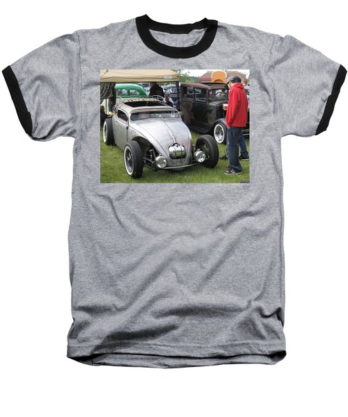 Baseball T-Shirt featuring the photograph Rat Rod Many Parts by Kym Backland