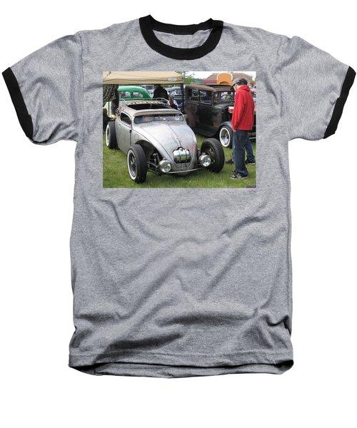 Rat Rod Many Parts Baseball T-Shirt by Kym Backland