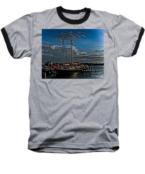 Ready To Sail Baseball T-Shirt by Ronald Lutz