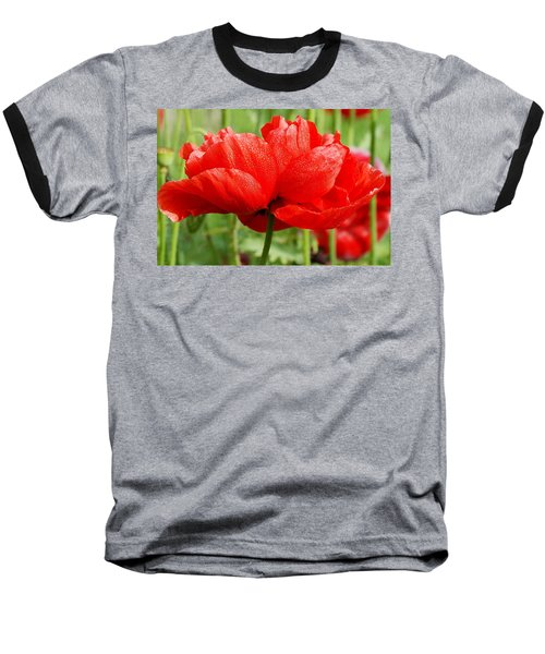 Baseball T-Shirt featuring the photograph Red And Green by Fotosas Photography
