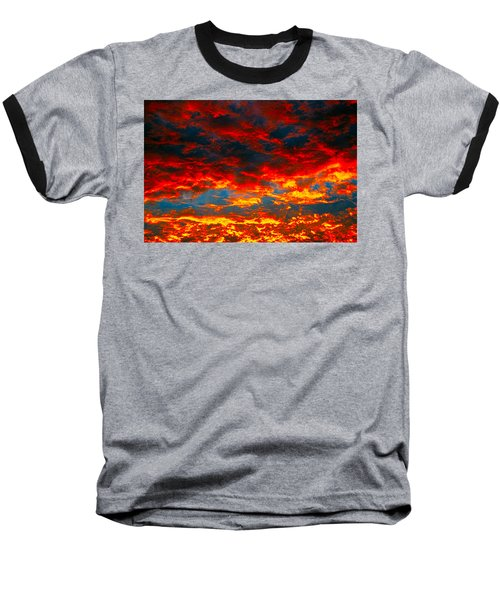 Red Clouds Baseball T-Shirt