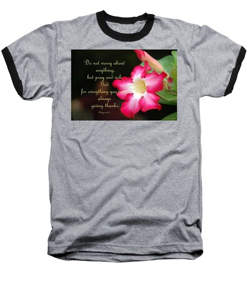 Baseball T-Shirt featuring the photograph Red Hibiscus by Cynthia Amaral