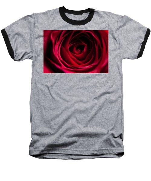 Baseball T-Shirt featuring the photograph Red Rose by Matt Malloy