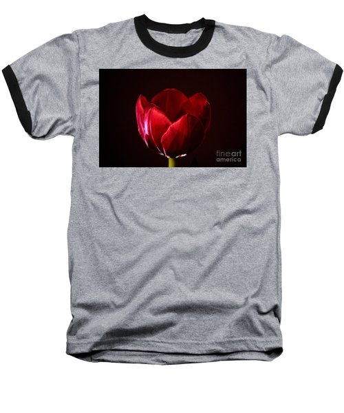 Red Tulip Baseball T-Shirt