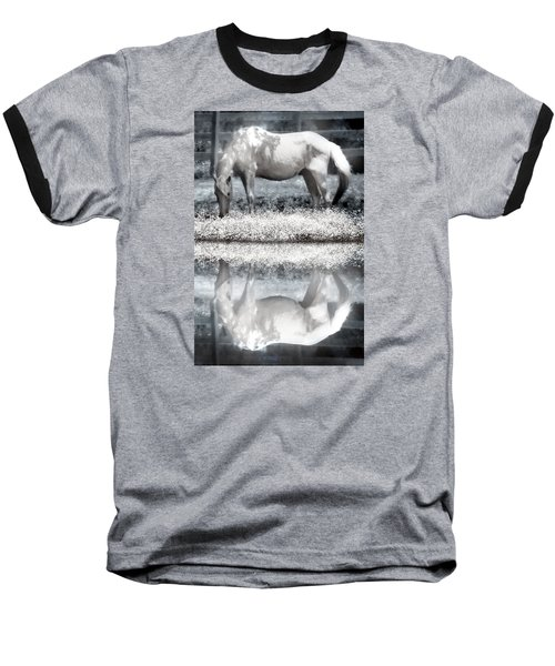 Baseball T-Shirt featuring the digital art Reflecting Dreams by Mary Almond