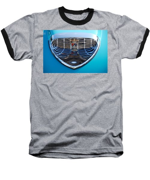 Baseball T-Shirt featuring the photograph Reflecting Ford by John Schneider