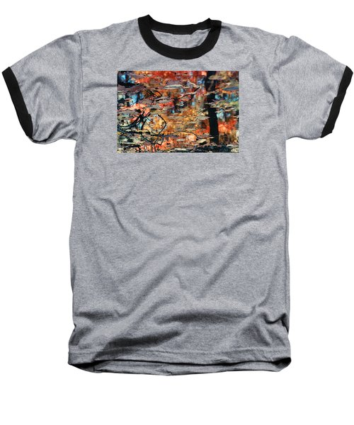 Baseball T-Shirt featuring the photograph Reflection by Barbara Middleton