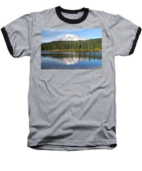 Reflection Lake - Mt. Rainier Baseball T-Shirt