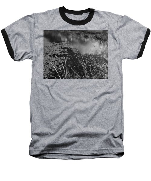 Reflections In The Pond Baseball T-Shirt