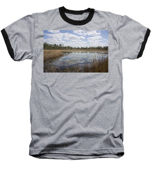 Baseball T-Shirt featuring the photograph Reflections by Lynn Palmer