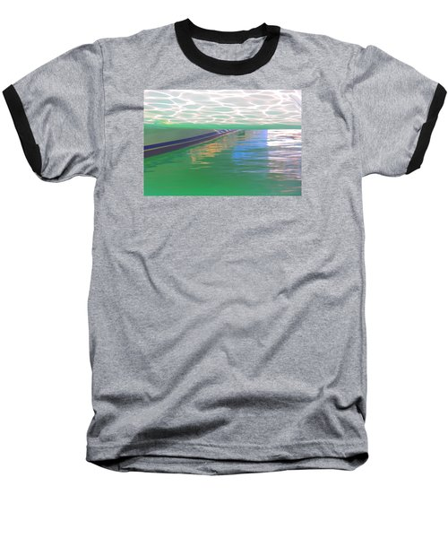 Reflections Baseball T-Shirt by Nareeta Martin