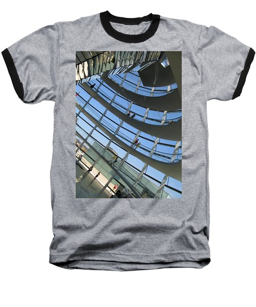 Reichstag Dome Baseball T-Shirt