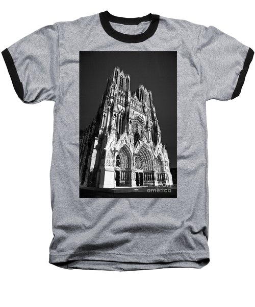 Reims Cathedral Baseball T-Shirt
