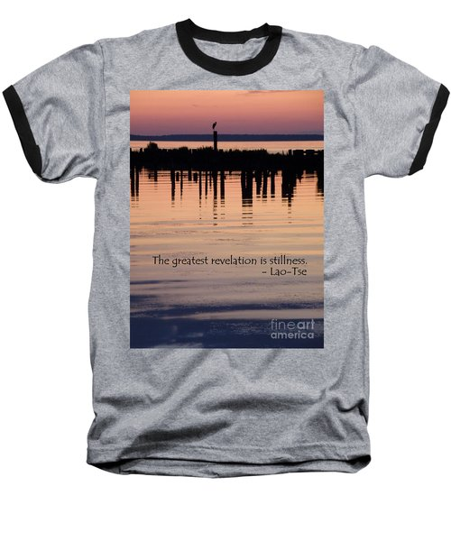Baseball T-Shirt featuring the photograph Revelation by Lainie Wrightson