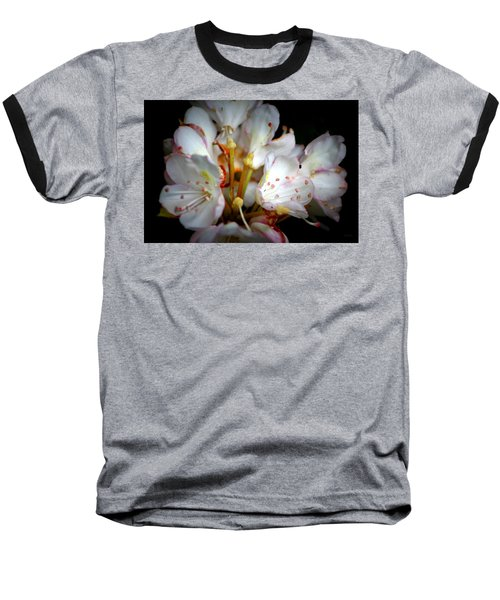 Rhododendron Explosion Baseball T-Shirt