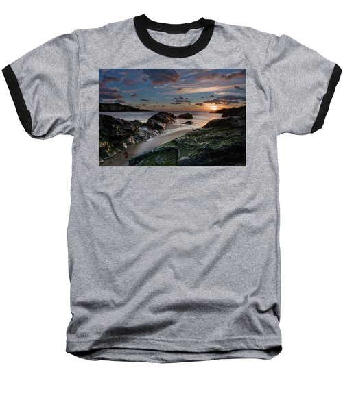 Baseball T-Shirt featuring the photograph Rhosneigr Sunset  by Beverly Cash