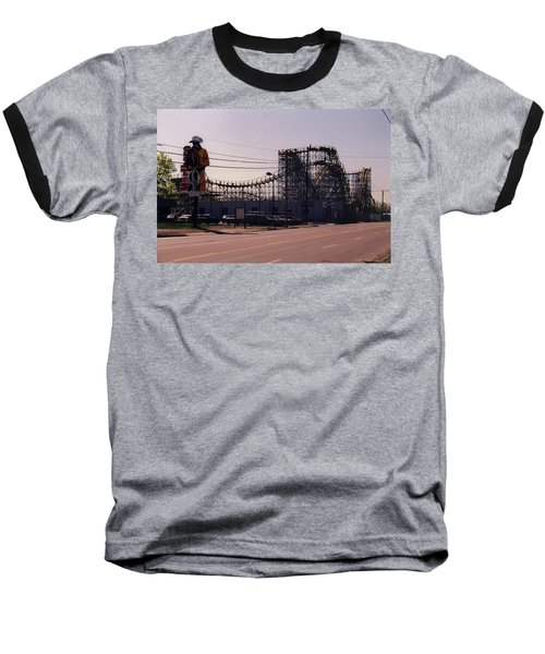 Baseball T-Shirt featuring the photograph Ride It Cowboy by Stacy C Bottoms