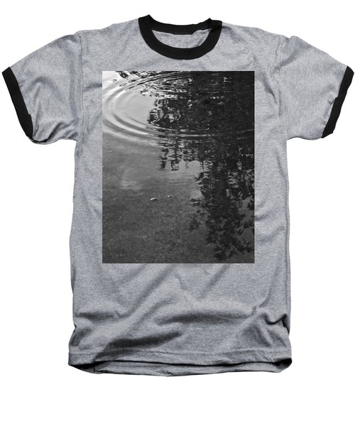 Rippled Tree Baseball T-Shirt by Kume Bryant