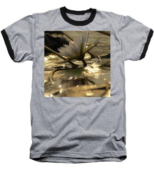 River Lily Baseball T-Shirt