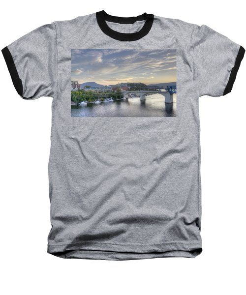 Riverfront View Baseball T-Shirt