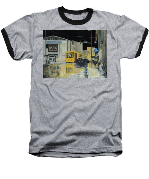 Rivermarket Streetcar 411 Baseball T-Shirt