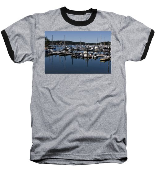 Roche Harbor Reflected Baseball T-Shirt