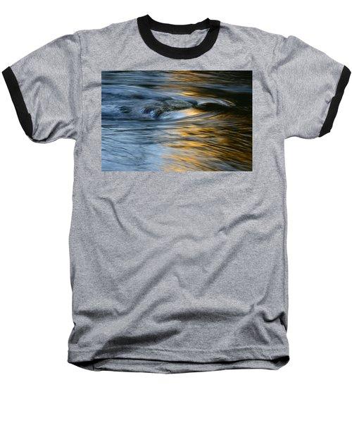 Rock And Blue Gold Water Baseball T-Shirt