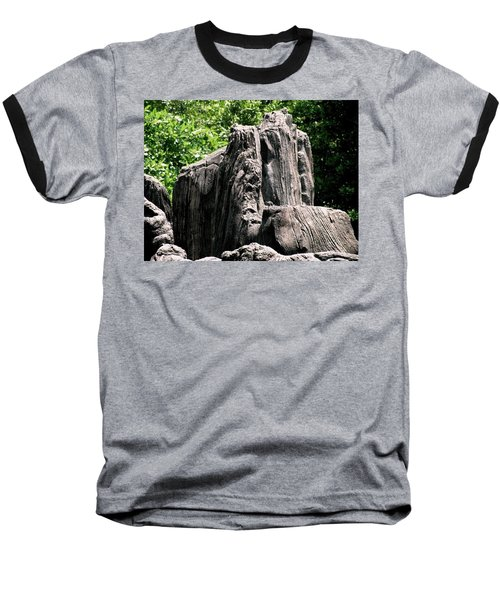 Baseball T-Shirt featuring the photograph Rock Formation by Maria Urso