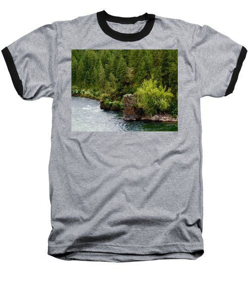Rockin The Spokane River Baseball T-Shirt