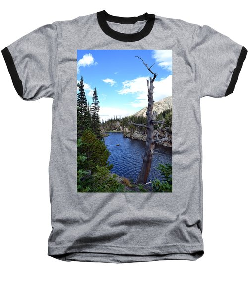 Rocky Mountain National Park1 Baseball T-Shirt by Zawhaus Photography