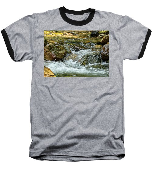 Baseball T-Shirt featuring the photograph Rocky River by Lydia Holly