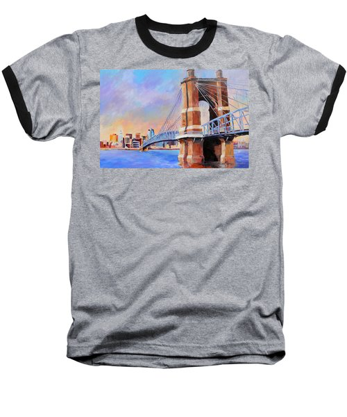 Roebling Twilight Baseball T-Shirt