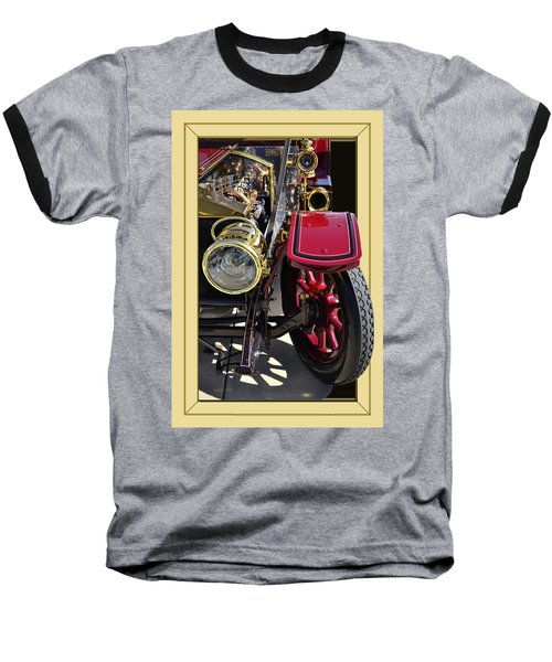 Baseball T-Shirt featuring the photograph Rolls Out by Larry Bishop