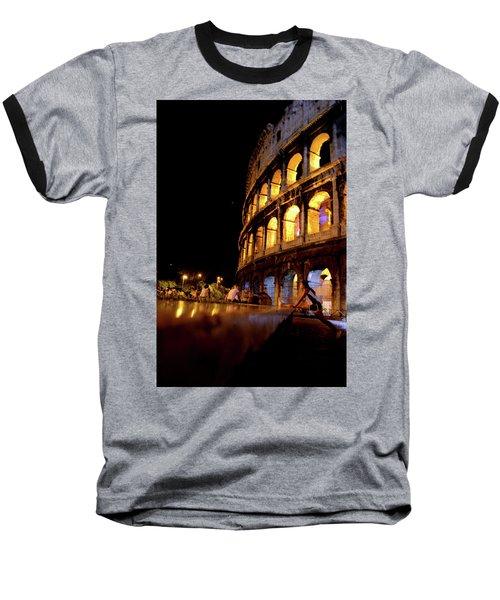 Roman Workout Baseball T-Shirt