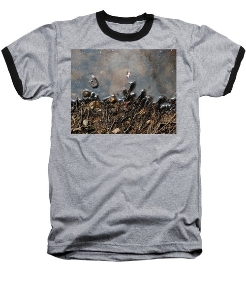 Roots In Water Baseball T-Shirt by Kay Lovingood