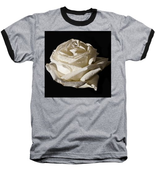 Baseball T-Shirt featuring the photograph Rose Silver Anniversary by Steve Purnell