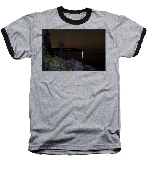 Baseball T-Shirt featuring the photograph Rounding Otter Point by Brent L Ander