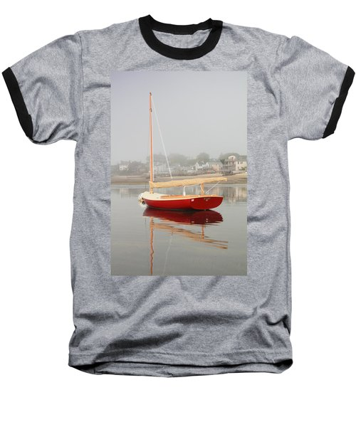 Ruby Red Catboat Baseball T-Shirt