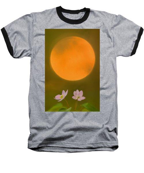 Rue Anemone And The Rising Sun Baseball T-Shirt