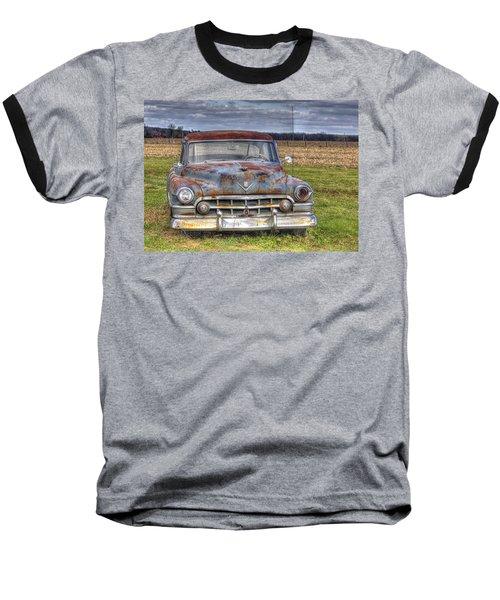 Rusty Old Cadillac - Torcwori Baseball T-Shirt