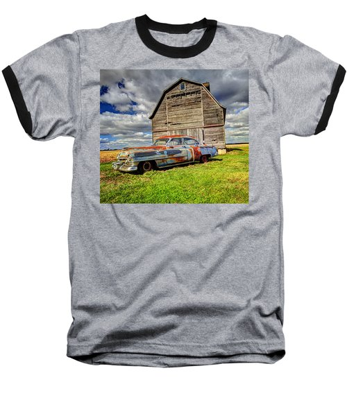 Rusty Old Cadillac Baseball T-Shirt